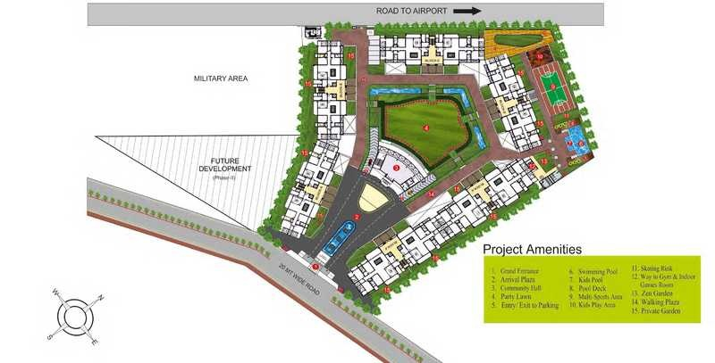 lunkad sky belvedere project master plan image1