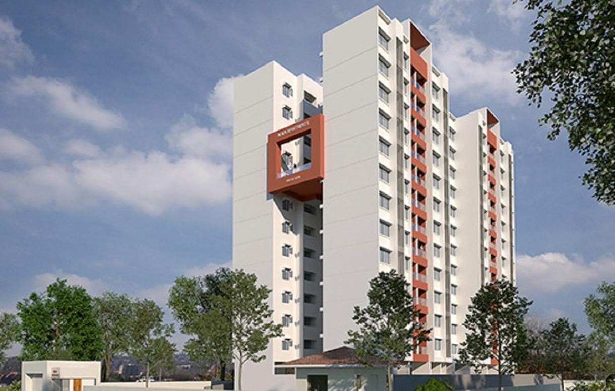 magarpatta nova project tower view3