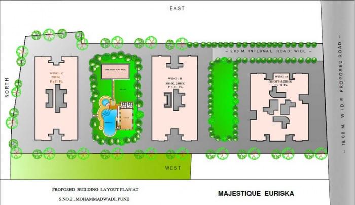 majestique euriska building c master plan image6