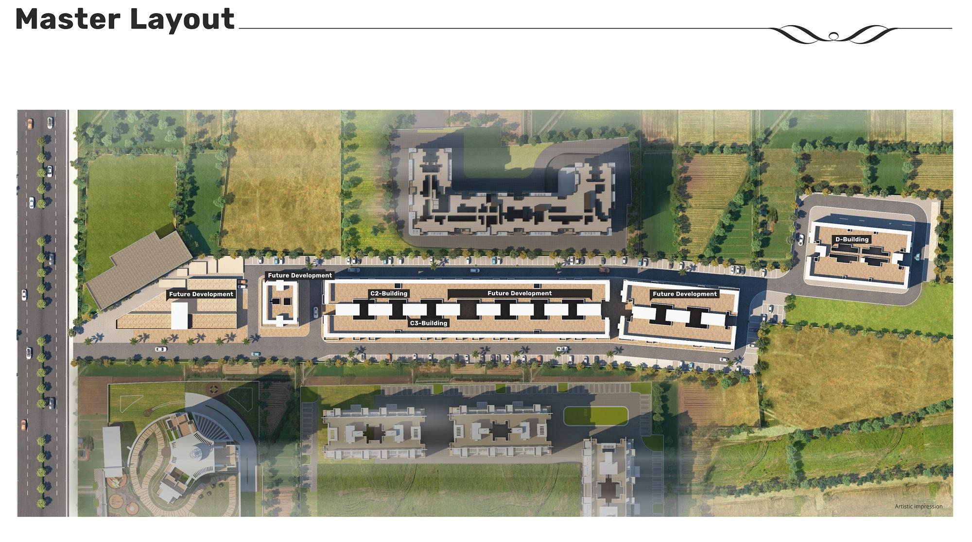 majestique signature towers phase 1 master plan image4