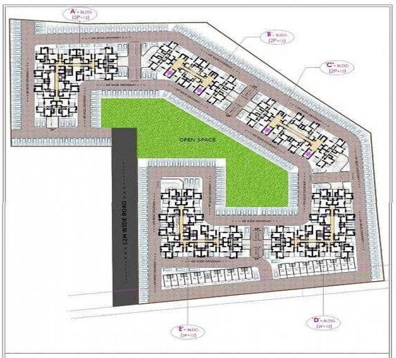majestique venice project master plan image1