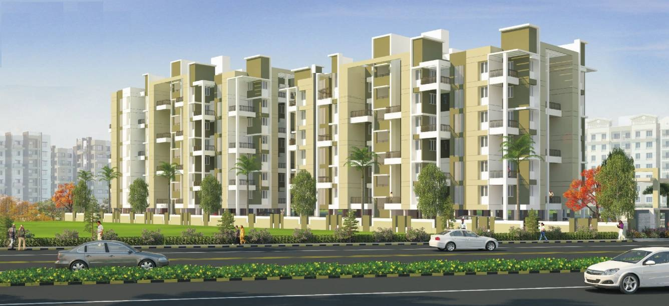 manav silver valley project tower view1