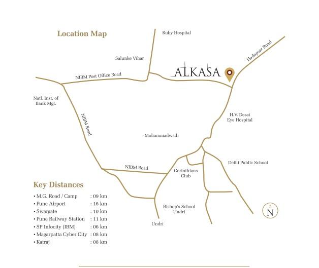 mantra alkasa phase 2 location image2