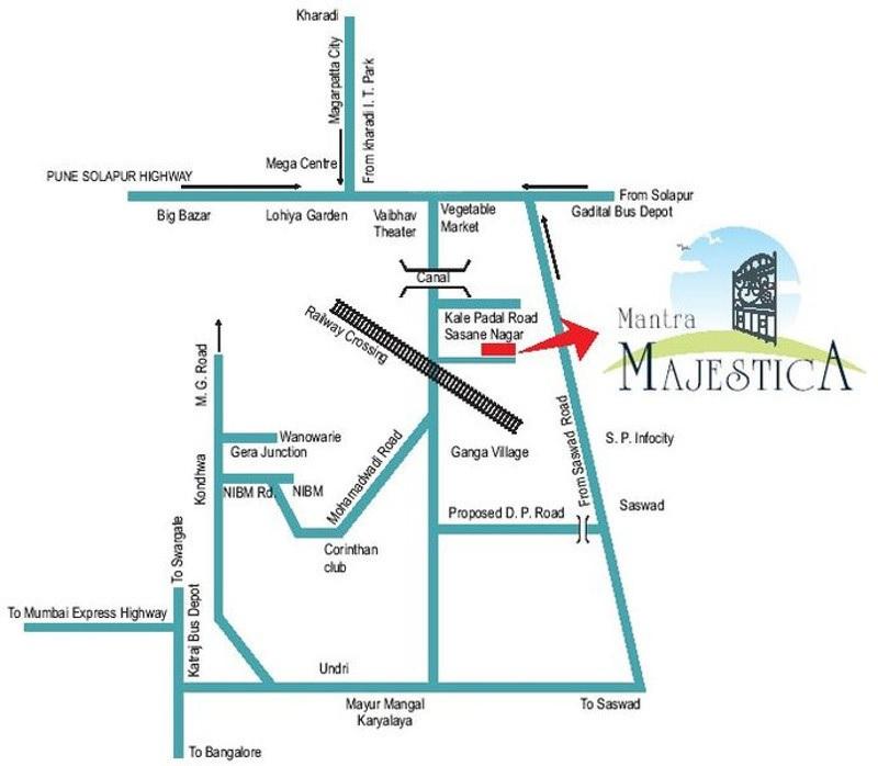 mantra majestica project location image1