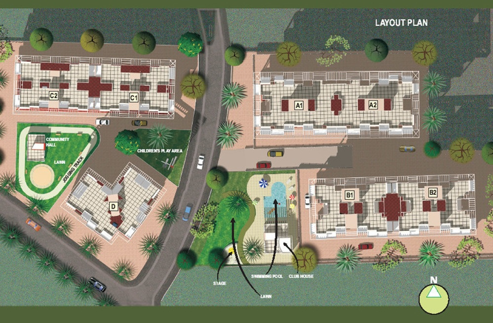 mantra majestica project master plan image1