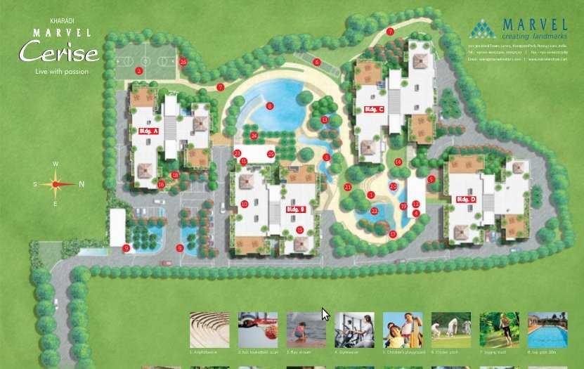 marvel cerise bldg b c d project master plan image1