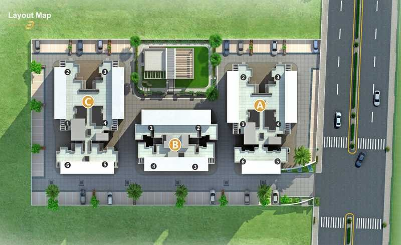 Image For Master Plan Image 1 Of Millennium Acropolis In Wakad Pune
