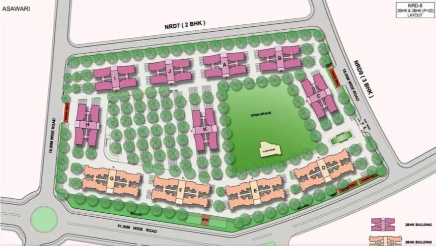 nanded city asawari master plan image5