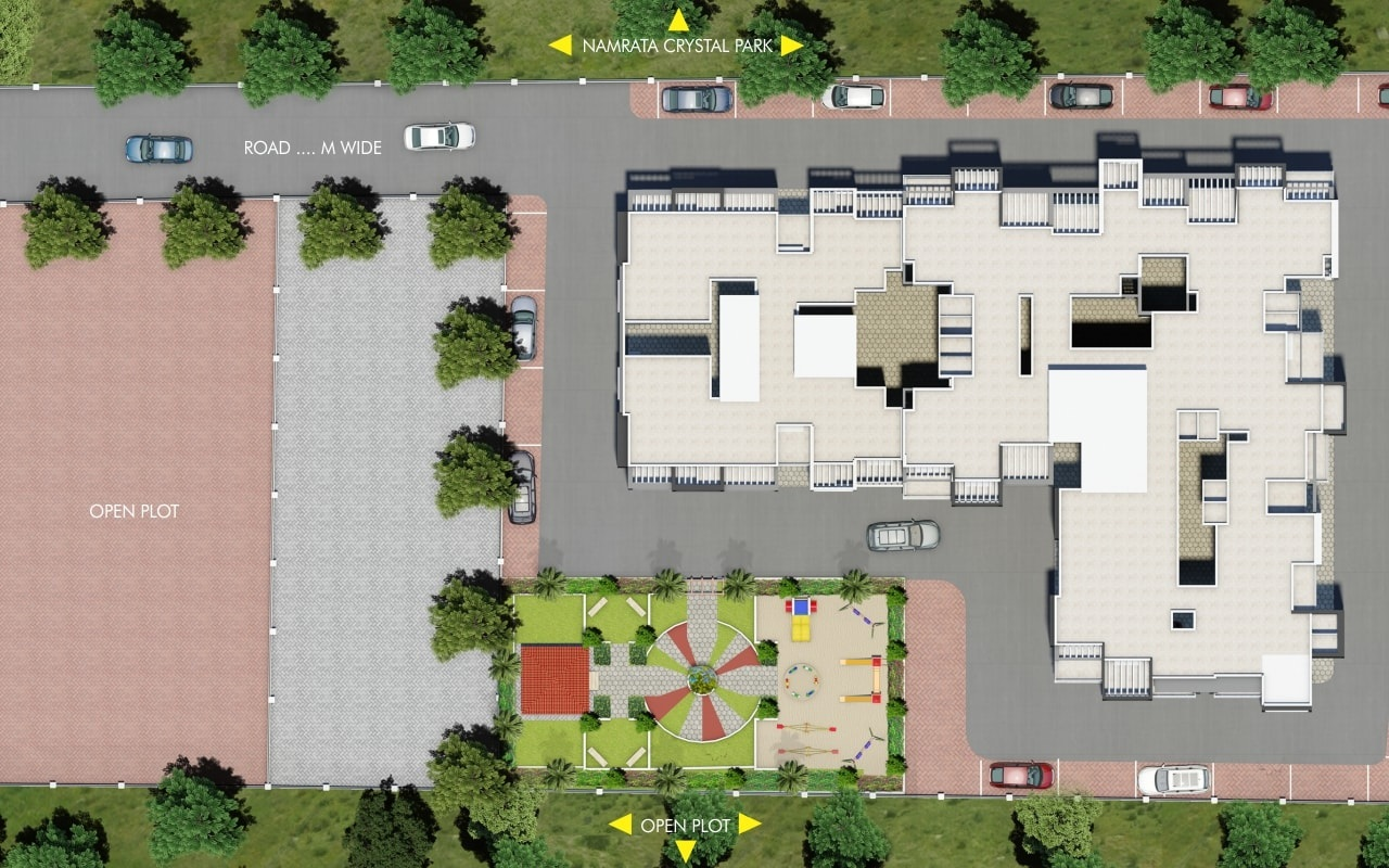 nandini mangaldeep vishnu shree apartment project master plan image1