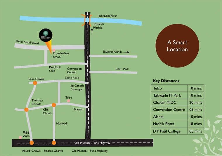 neev sai fortune park location image5