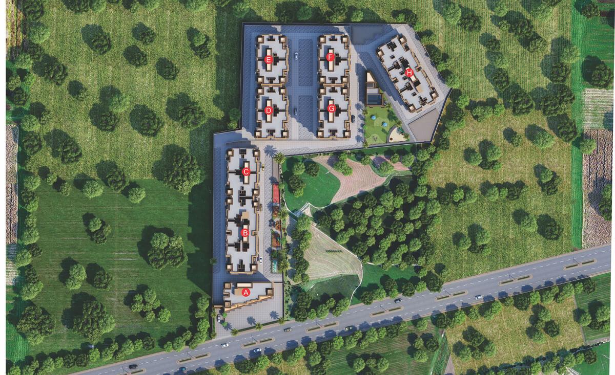 nexus gulmohar master plan image1