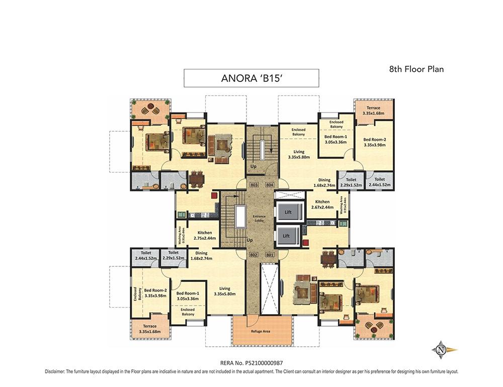 nyati elan west 1 project floor plans1
