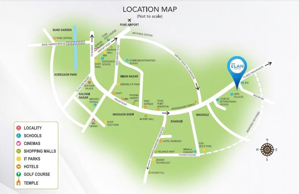 nyati elan west 1 project location image1