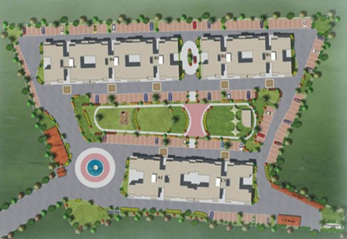 nyati esplanade project master plan image1