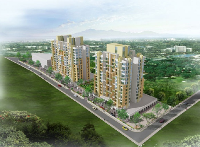 omega mantri eternity plus project tower view2