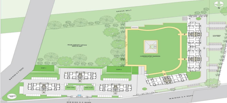 panchshil eon waterfront ii master plan image6