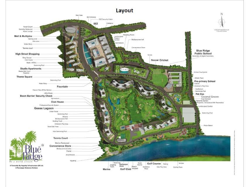 paranjape schemes blue ridge master plan image1