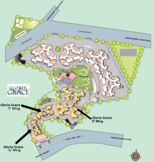 paranjape schemes gloria grace project master plan image1