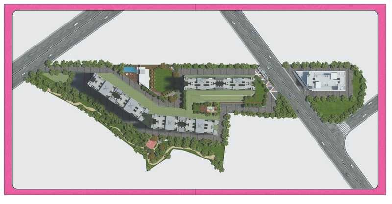 paranjape trident towers master plan image7