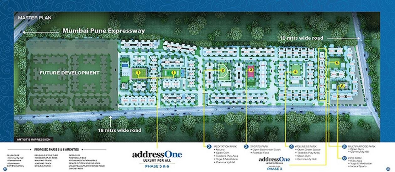 peninsula address one phase 5 master plan image7