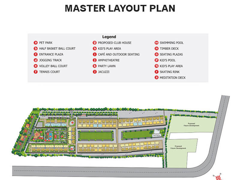Peninsula Ashok Meadows Master Plan Image