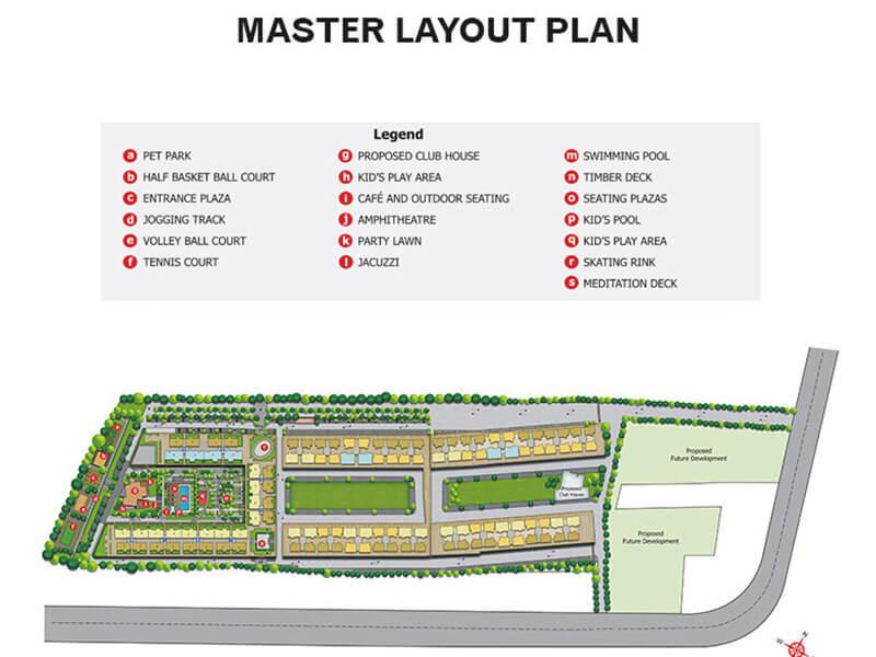 peninsula ashok meadows master plan image1