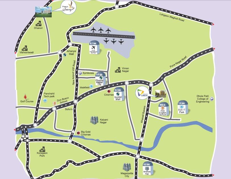 prasun loreto project location image1