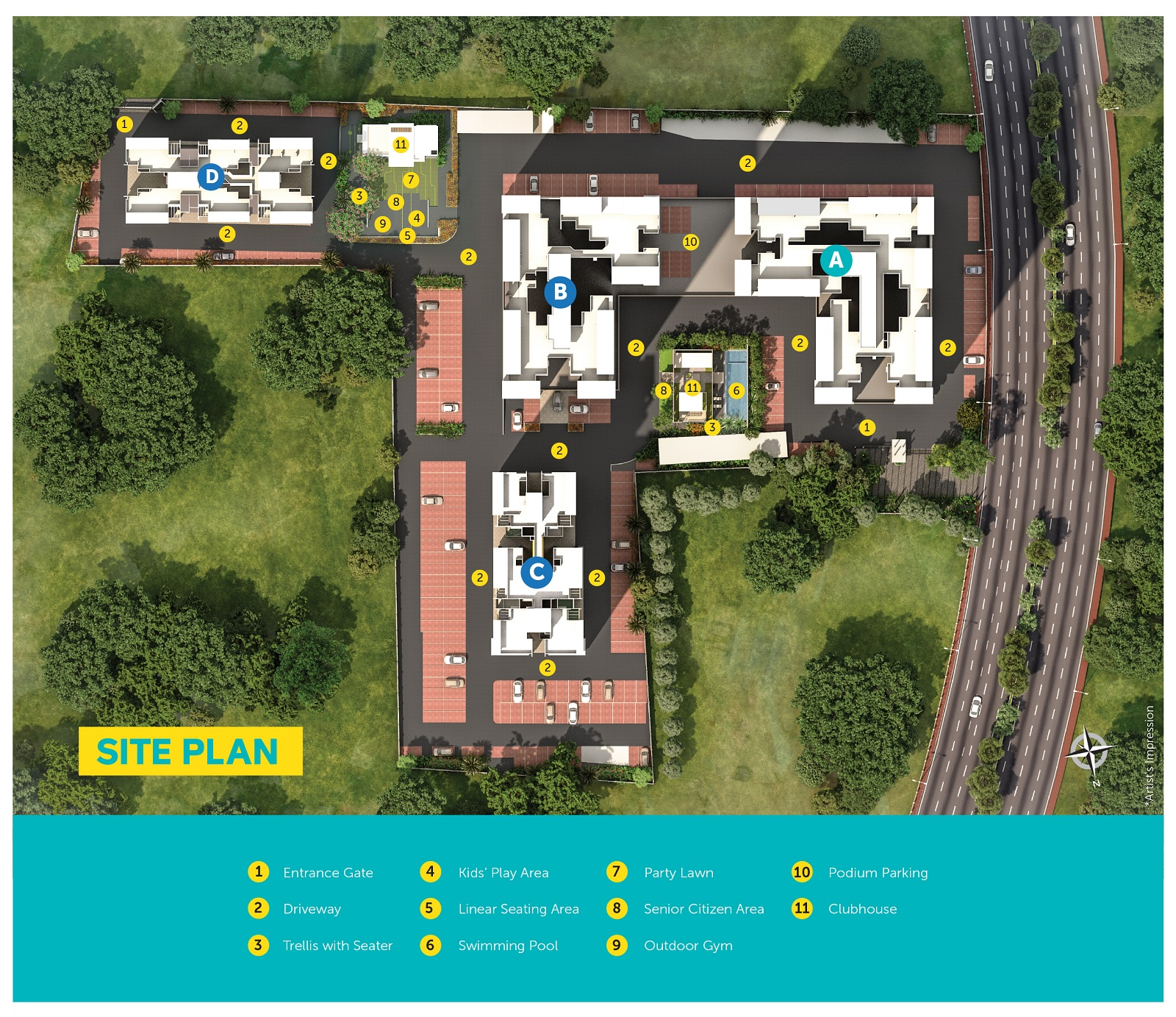 pristine equilife homes phase iii project master plan image1