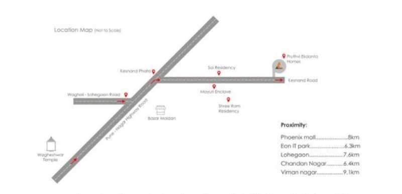 pruthvi ekdanta homes project location image1