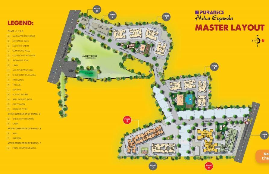 puraniks aldea espanola phase 6 master plan image6