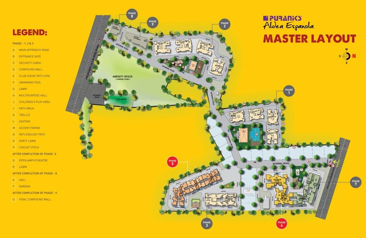 puraniks aldea espanola phase 7 master plan image8