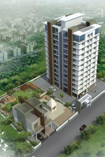 pushpganga pooja enclave project tower view2