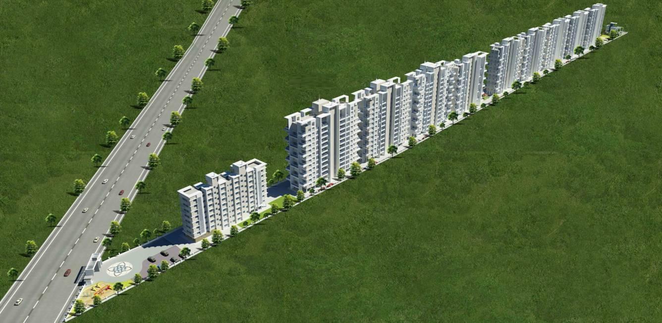 rajheramba one hallmark avenue project master plan image1
