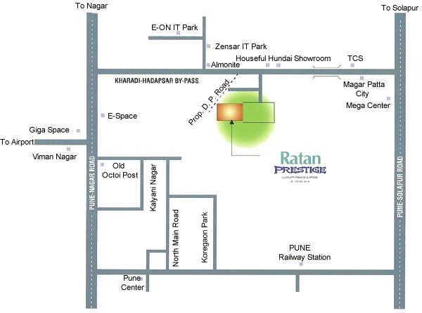 ratan prestige project location image1