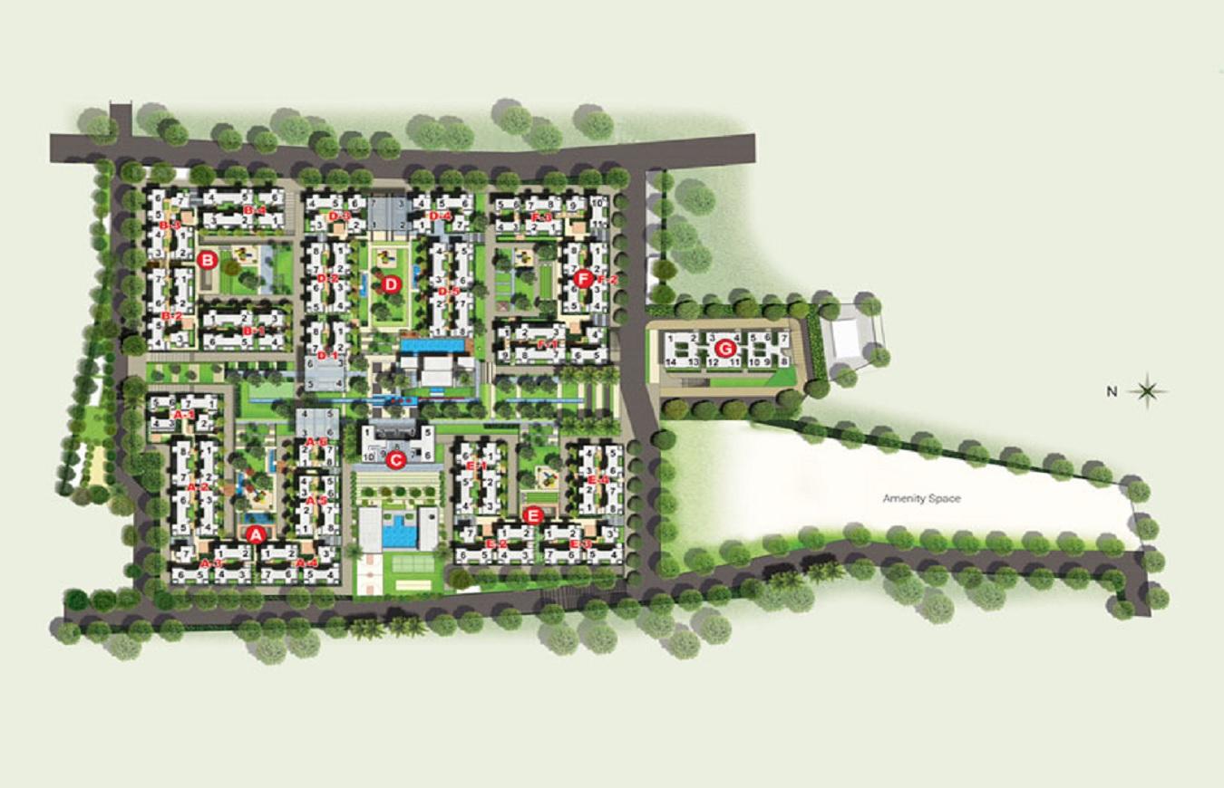 rohan abhilasha building b master plan image8