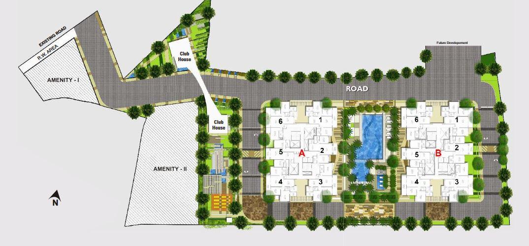 rohan ishan project master plan image1