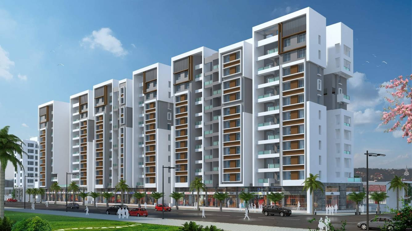 rr lunkad riddhi siddhi heights project tower view2
