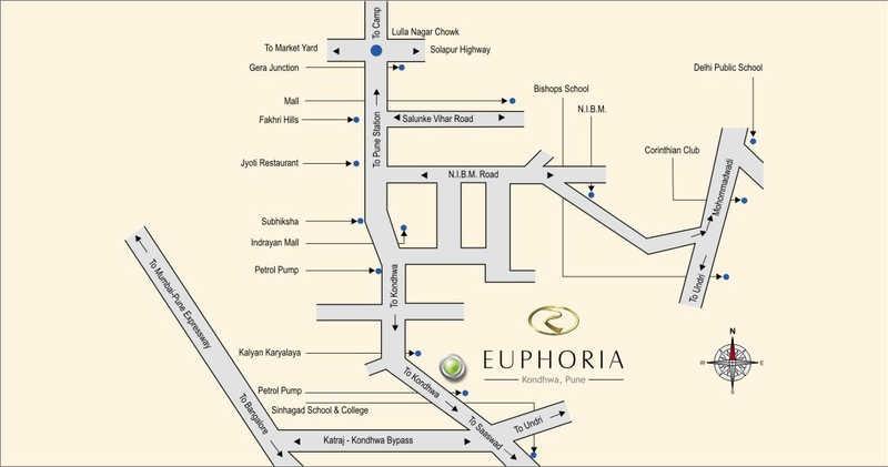 runwal euphoria project location image1