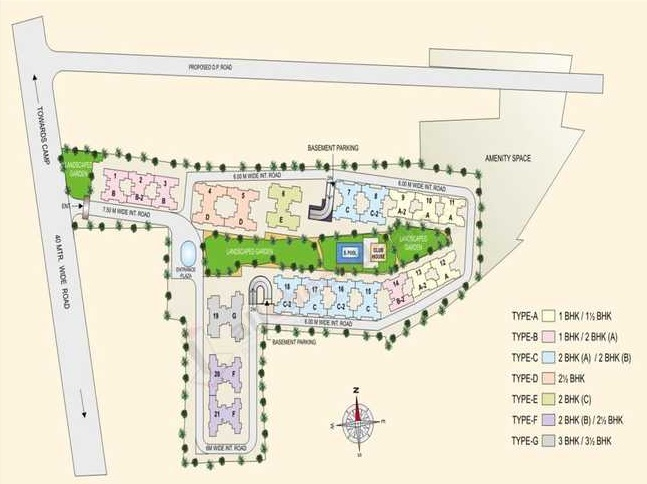 runwal euphoria project master plan image1
