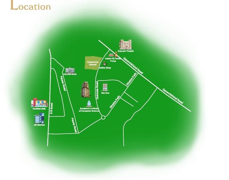 saarrthi signature tower 2 project location image1