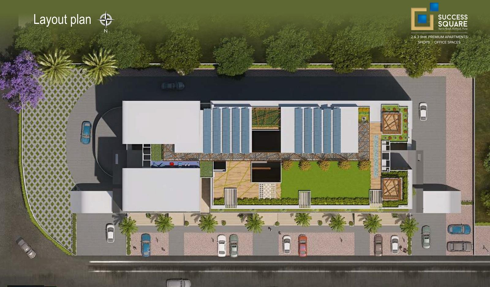 saarrthi success square project master plan image1