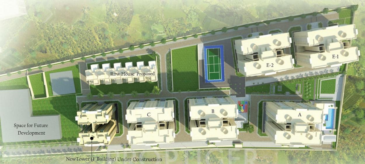 sagar waters edge project master plan image1