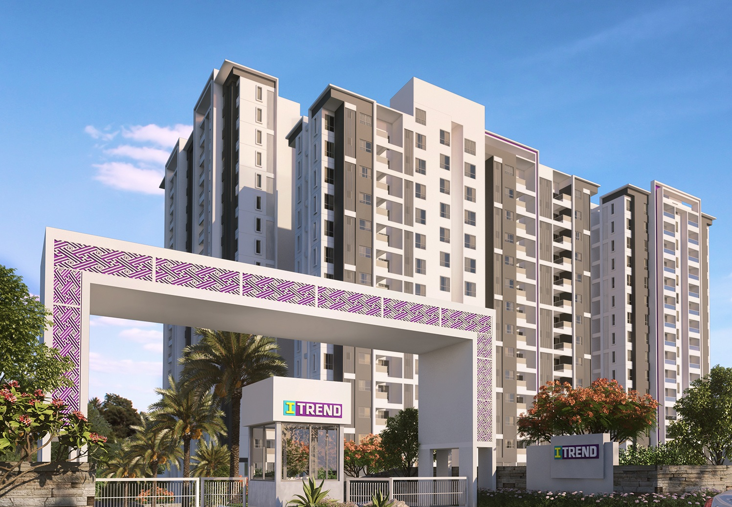saheel itrend homes project tower view1