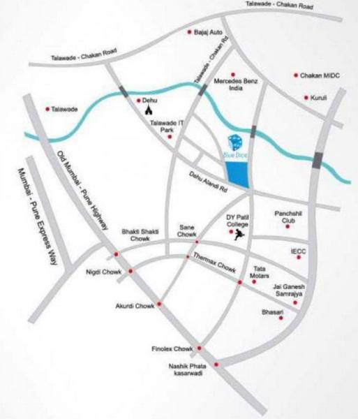 sai anushka residency project location image1