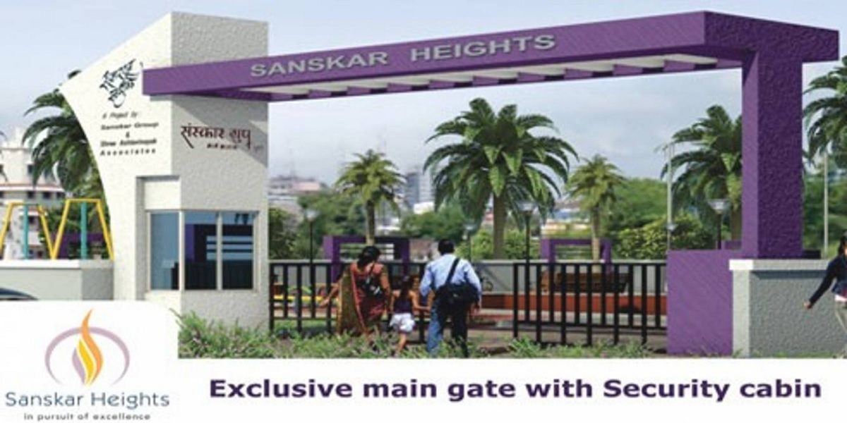 sanskar heights project entrance view1