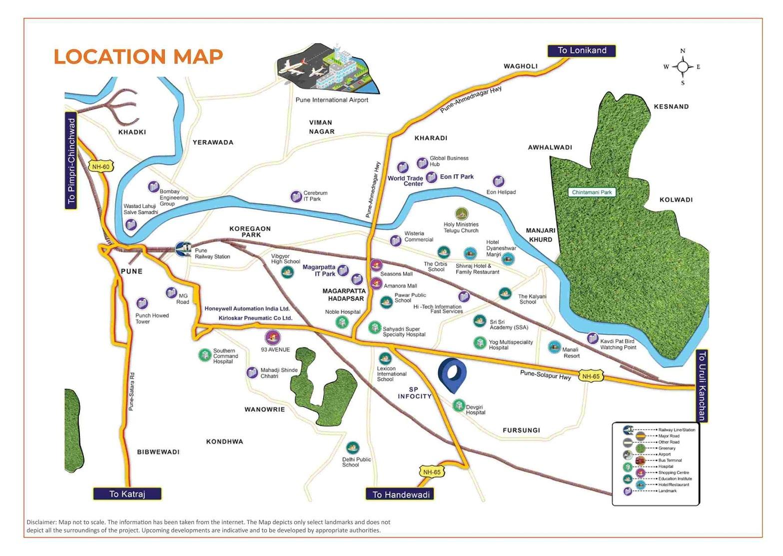 shapoorji pallonji joyville hadapsar annexe  project location image2