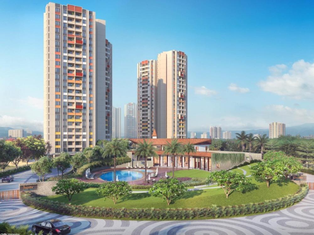shapoorji pallonji joyville hadapsar annexe  project tower view1