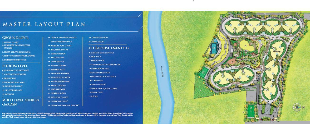shapoorji pallonji tornado project master plan image1