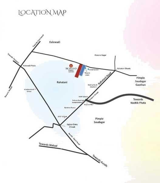 shriram highfield park phase ii project location image1