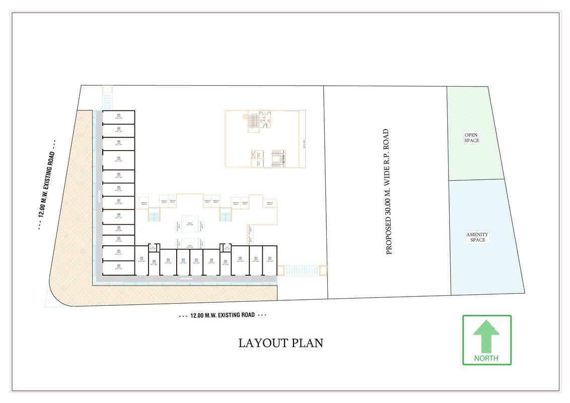 shriram l square master plan image1